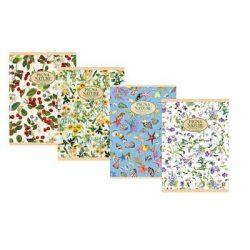 PIGNA Nature Flowers füzet A/5 négyzethálós