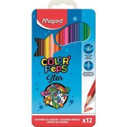MAPED Color'Peps 12db / 18db / 24db / 36db / 48db-os színesceruza fém dobozban