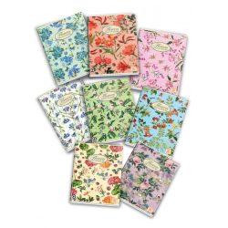 PIGNA Nature Flowers füzet A/4 négyzethálós