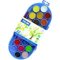 MILAN vízfesték 22 színű