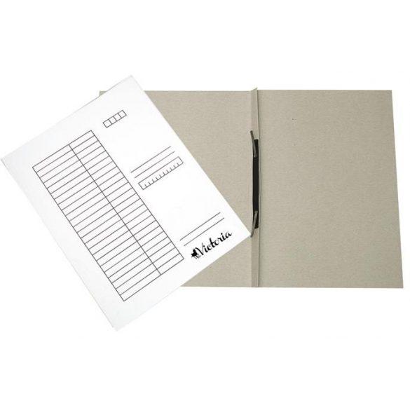 Papír gyorsfűző A/4 fehér