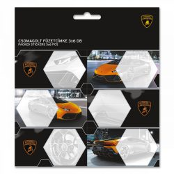 ARS UNA füzetcímke csomagolt, 3x6db Lamborghini