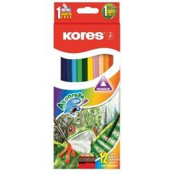 KORES színesceruza akvarell 12db-os / 24db-os