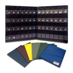 Betűtartó mappa A/5 PVC vagy karton