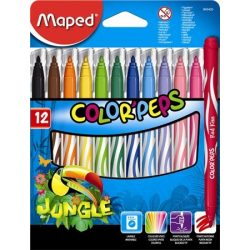 MAPED Color'Peps 12db mosható filctoll