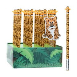 Grafitceruza HB 4D leopárd