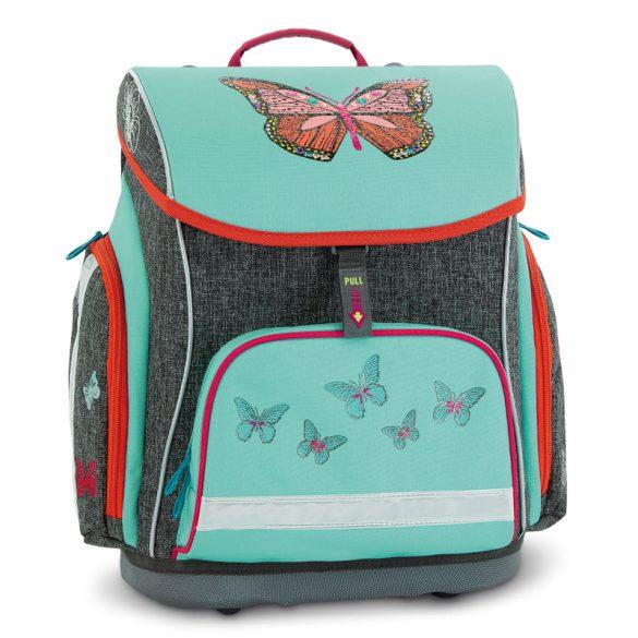 Ars Una kompakt easy mágneszáras iskolatáska Butterfly, Pillangó