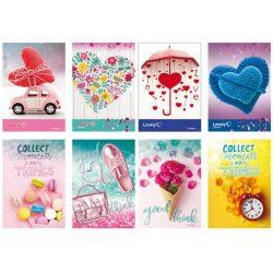 Füzet A/4 BLASETTI Lovely Things 42 lap kockás