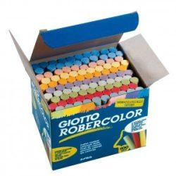 GIOTTO táblakréta 100db színes Robercolor, pormentes