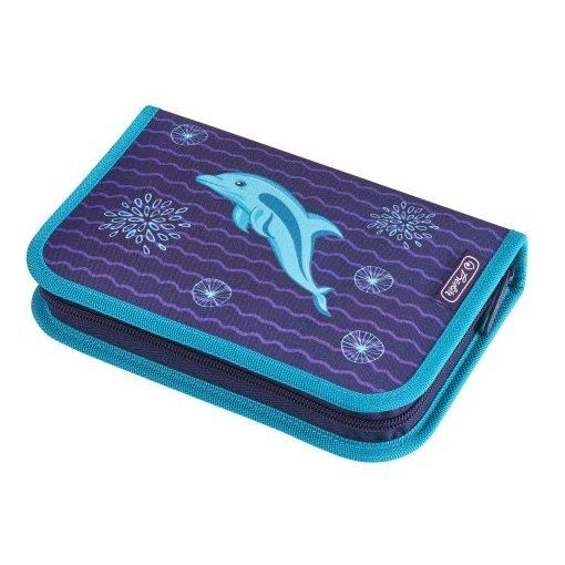 HERLITZ tolltartó Dolphin, delfin, töltött, 31 részes