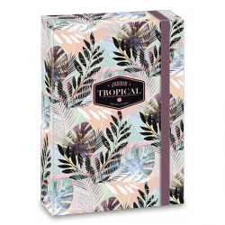 ARS UNA füzetbox  A/4 Tropical Leaf