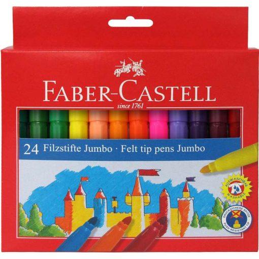 FABER-CASTELL filctoll készlet 24db Jumbo