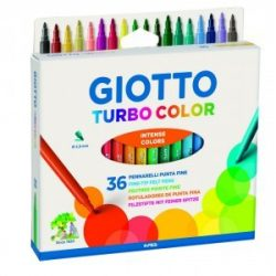 GIOTTO filckészlet 36db Turbo Color