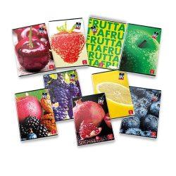 PIGNA Fruits füzet A/4 42 lapos sima