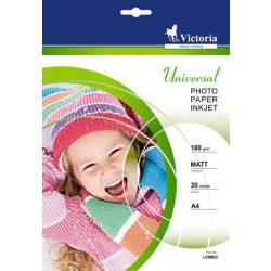 VICTORIA matt fotópapír A/4 180g 1440dpi 20db/csom