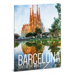 ARS UNA gumis mappa A/4 Barcelona