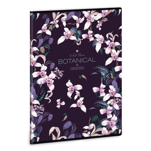 ARS UNA füzet A/4 40 lapos vonalas Botanic Orchid