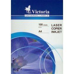 Etikett címke VICTORIA 100 lap/csomag 18 féle méretben választható