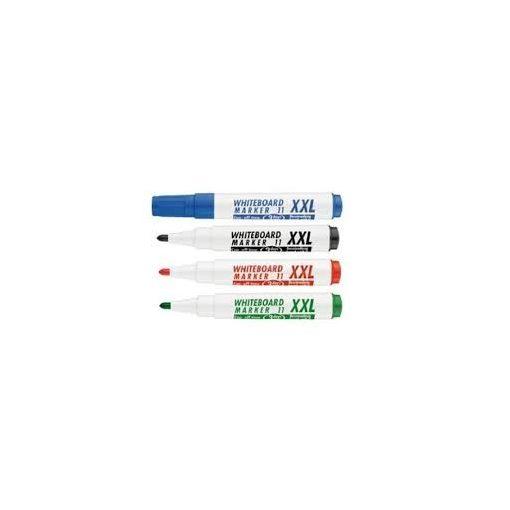 Táblafilc ICO Plan XXL 1-3mm kúpos, piros