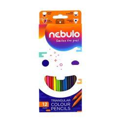 NEBULÓ színesceruza 12db háromszögletű