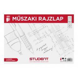ICO Student műszaki rajzlap A/3, 20db