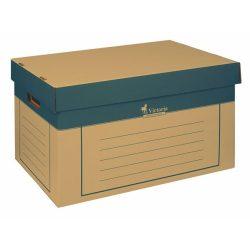 Archiváló konténer FORNAX, 540x360x253mm, felhajtható záró fedéllel