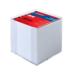 HERLITZ kockablokk, tartóval