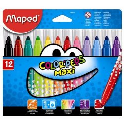 MAPED Color'Peps 12db MAXI kimosható filctoll