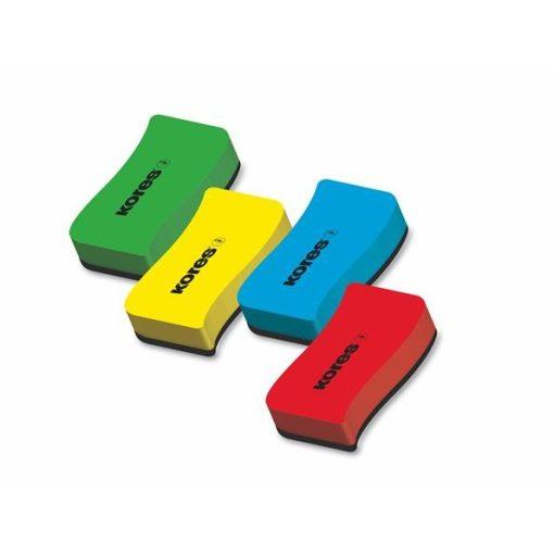 KORES mágneses táblatörlő szivacs vegyes szín