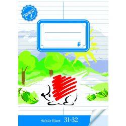 ICO füzet A/5 32 lapos szótár, Süni 31-32, Sulikész