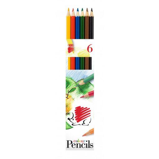 ICO Süni színesceruza 6db hatszögletű