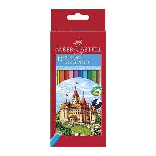 FABER-CASTELL hatszögletű színesceruza 12db