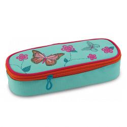 ARS UNA ovális tolltartó Butterflies