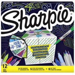 SHARPIE Fine Permanent marker készlet 12db
