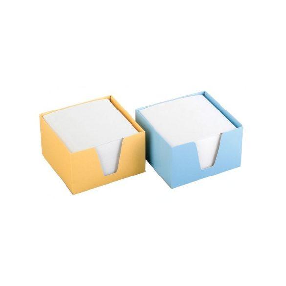Asztali tömbkocka 9x9x6cm papírdobozban