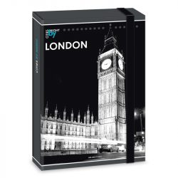 ARS UNA füzetbox  A/5 London by Night
