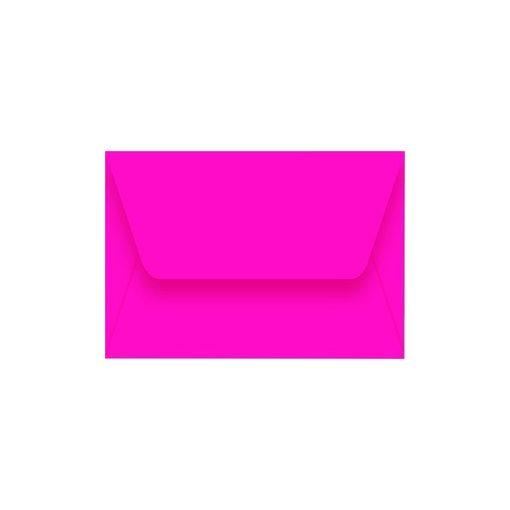 Boríték névjegyhez enyvezett 50db/csomag 73x114mm fluo színek