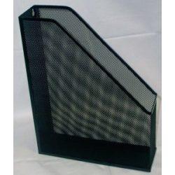 Fémhálós iratpapucs fekete