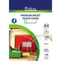 VICTORIA matt fotópapír A/4 120g 50db/csomag