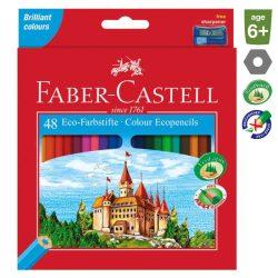 FABER CASTELL hatszögletű színesceruza 48db
