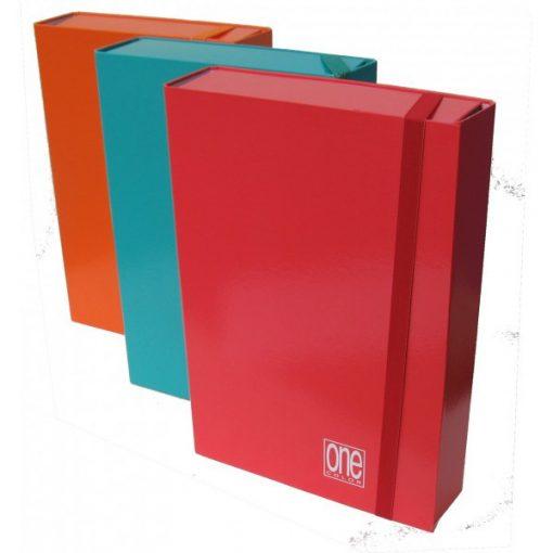 Füzetbox A/4 BLASETTI One piros 7cm