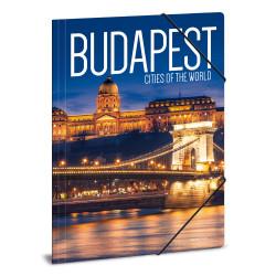 ARS UNA gumis mappa A/4 Budapest