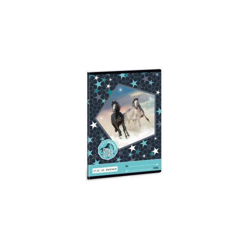 ARS UNA füzet A/5 32 lapos kockás, négyzethálós, Morning Star, 27-32