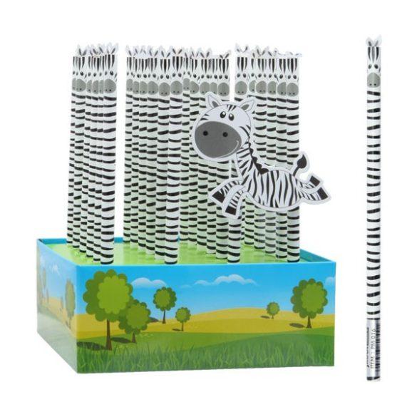 Grafitceruza HB 4D zebra