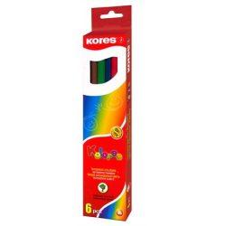 KORES színesceruza hatszögletű 6db