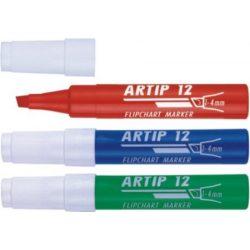 ICO rostiron Artip 12 filctoll, 1-4mm, vágott, kék