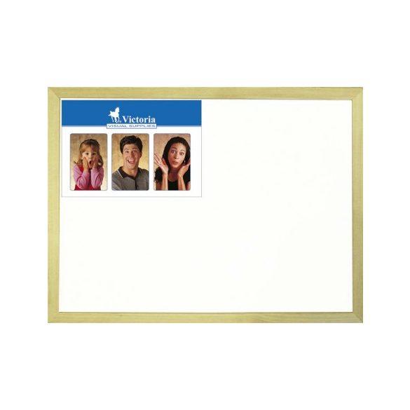 Fakeretes mágneses fehér tábla 40x60cm