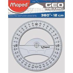 MAPED szögmérő műanyag 360 fok