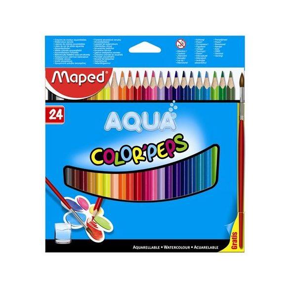 MAPED akvarell színesceruza  24db