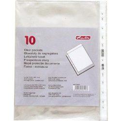 HERLITZ lefűzhető genotherm A/4 40 mic. 10 db/csom víztiszta